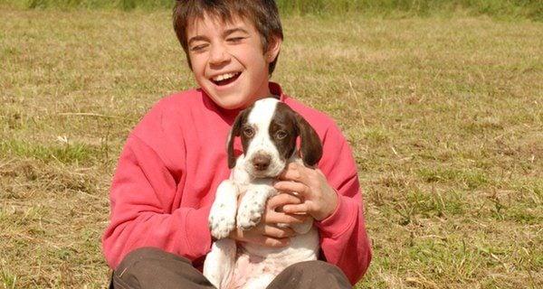 ¿Con qué edad se puede tener a un perro en casa?