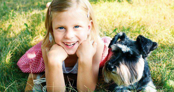 El perro ayuda en el desarrollo de nuestro hijo
