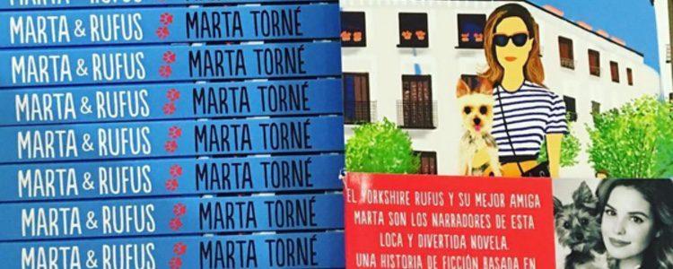 Marta & Rufus, el libro de Marta Torné