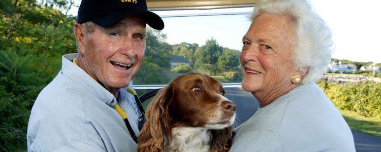 Bush y Millie