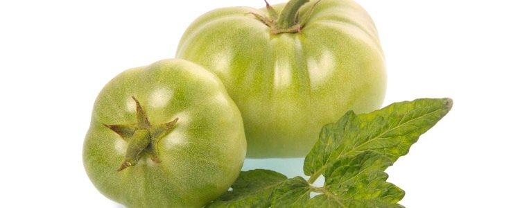 Los tomates verdes solo pueden consumirlos hervidos