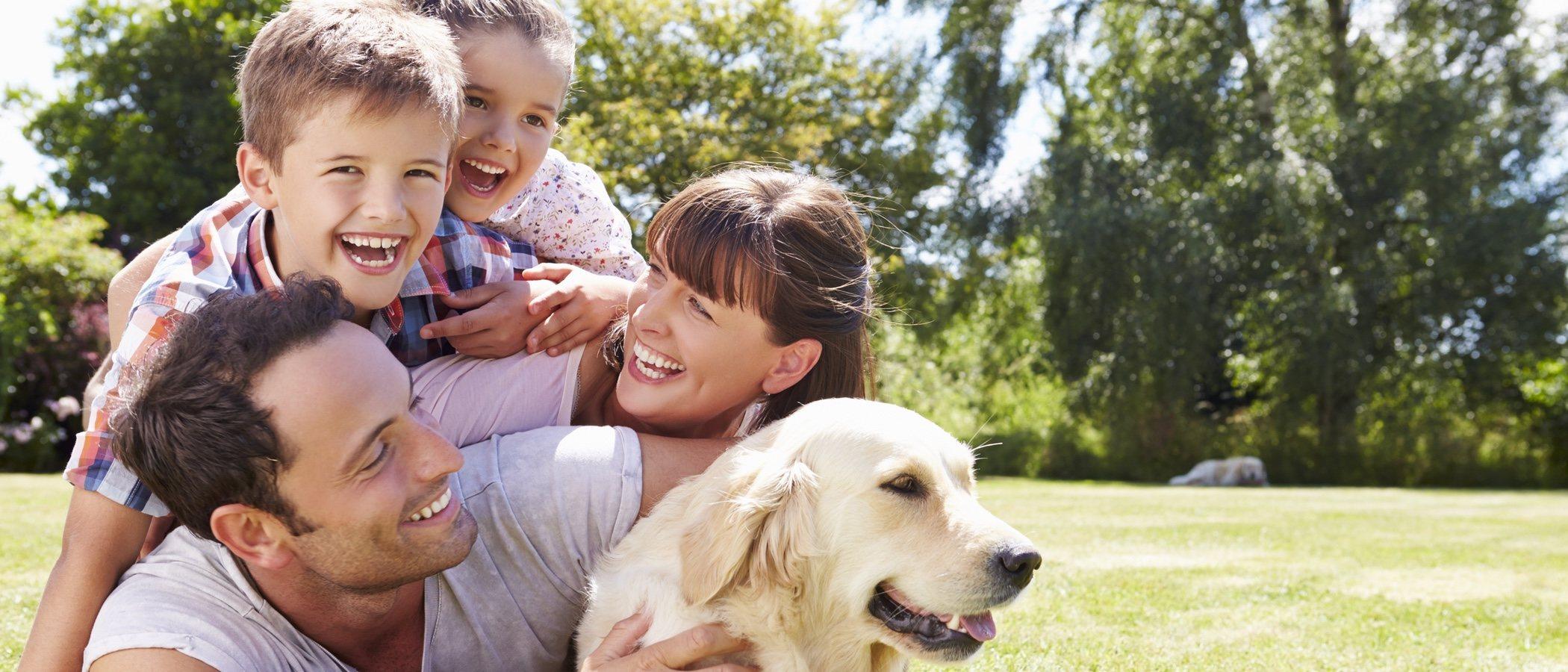 Familia interespecie: la mascota forma parte del árbol genealógico