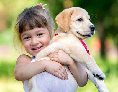 Las mejores mascotas para niños con asma